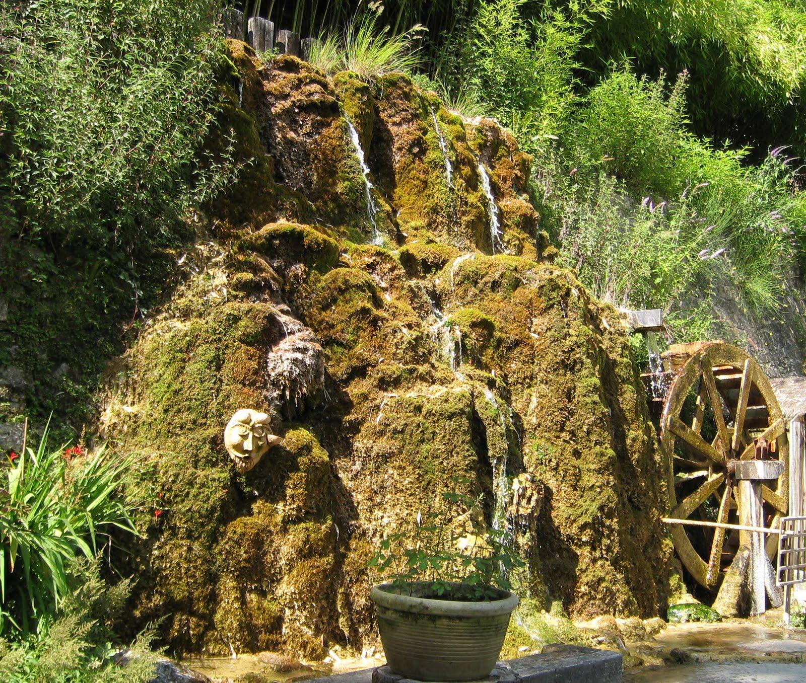 paradis express Jardins des sources pétrifiantes La Sone Is¨re