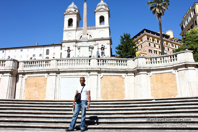 most romantic place in the world Spanish Steps in Rome, Italy