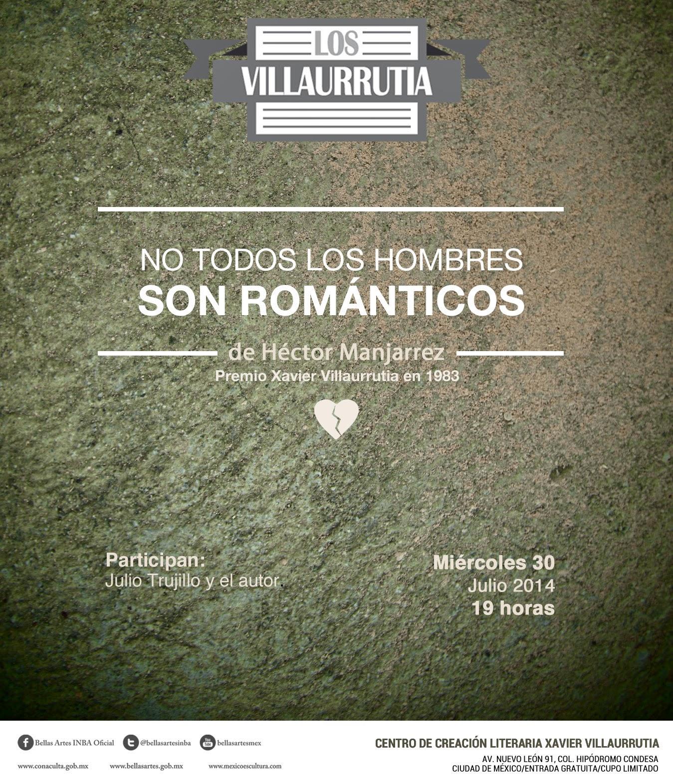 """El ciclo """"Los Villaurrutia"""" presenta a Héctor Manjarrez en el @CCLXV"""