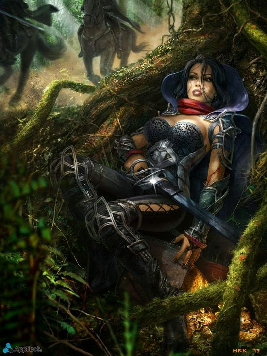 Bogdan Marica Bogdan-mrk deviantart ilustrações fantasia ficção científica games