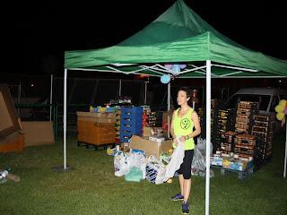 ZUMBA en segovia Girathon solidario 24h_ donando alimentos