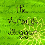 I received the Versatile Blogger Award