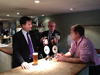 New barmen, Nick Clegg and Norman Lamb