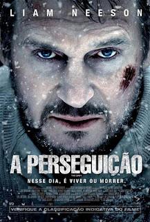 """Cartaz nacional do filme """"A Perseguição"""""""
