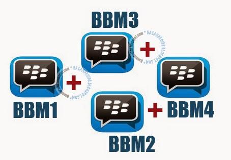 download app BBM klonning(BBM+BBM2+BBM3+BBM4) Mod Versi Terbaru 2.7.0.23
