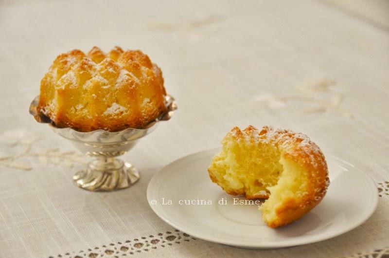tortine al limone frullato