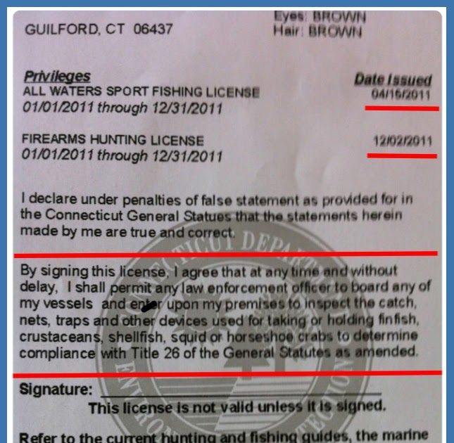 concerns over 4th & 5th amendment violations alter ct fishing