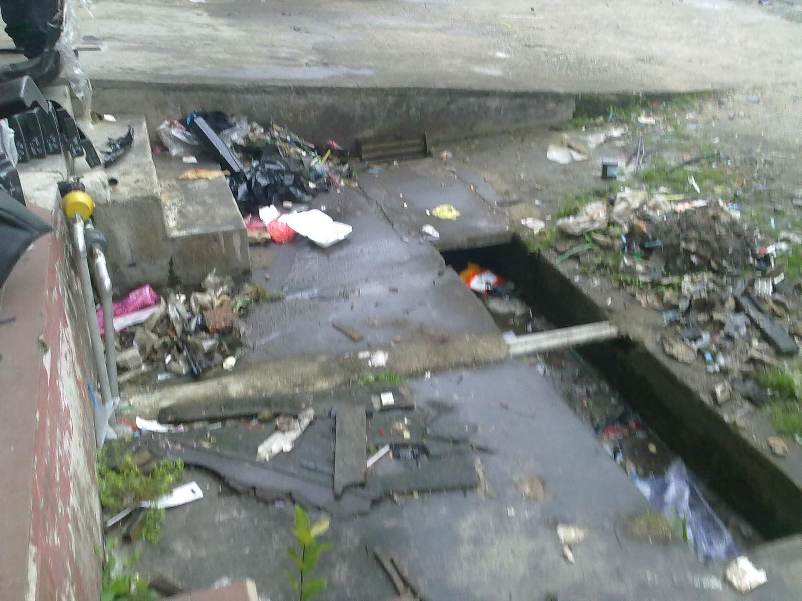 Masalah kereta di sebuah bengkel di tepi sungai kota tinggi