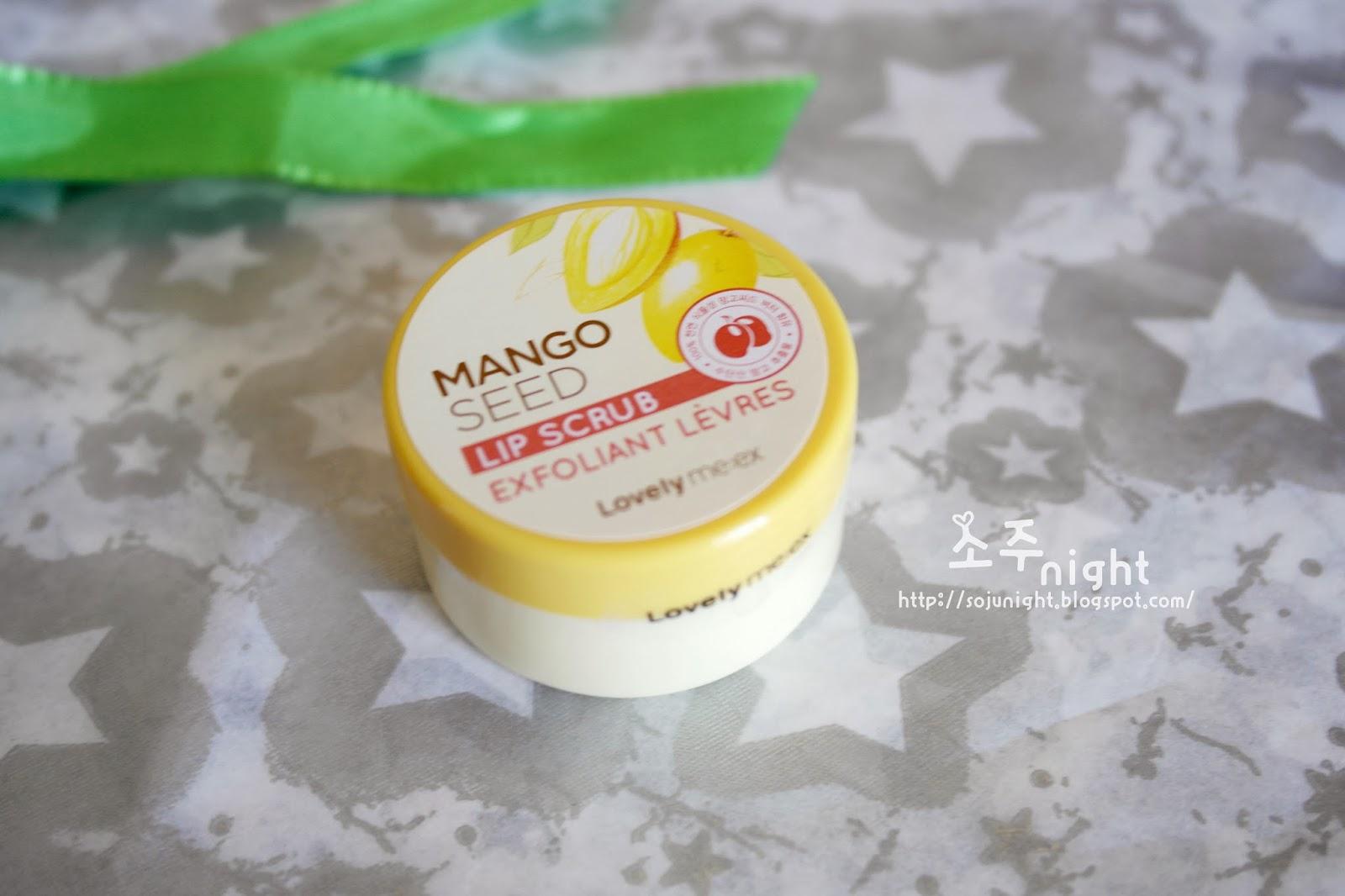 Tẩy da chết môi The Face Shop Mango Seed Lip Scrub