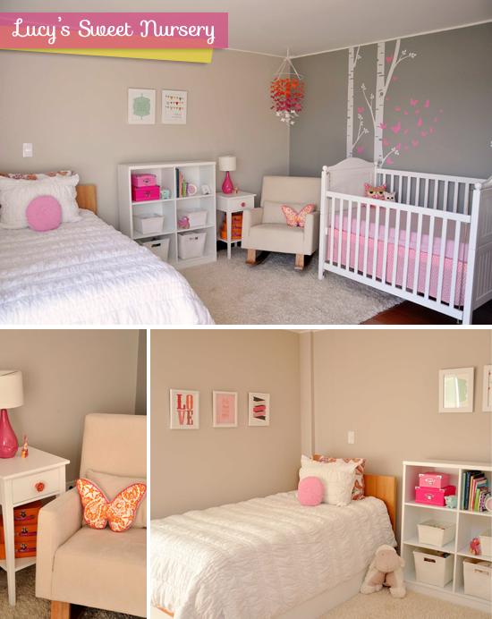 2x1 dormitorio de bebe y de ni a decoraci n - Dormitorio bebe nina ...