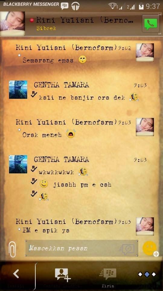 BBM Mod Tema Djadoel Apk