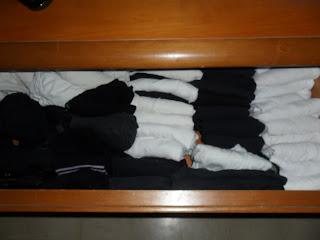Konmari folding