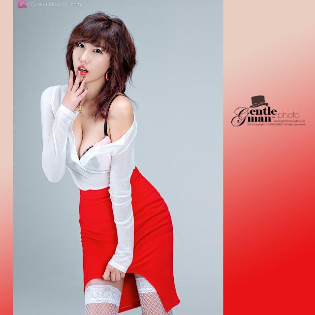 5 Sexy Red - Jung Yu Ri -Very cute asian girl - girlcute4u.blogspot.com