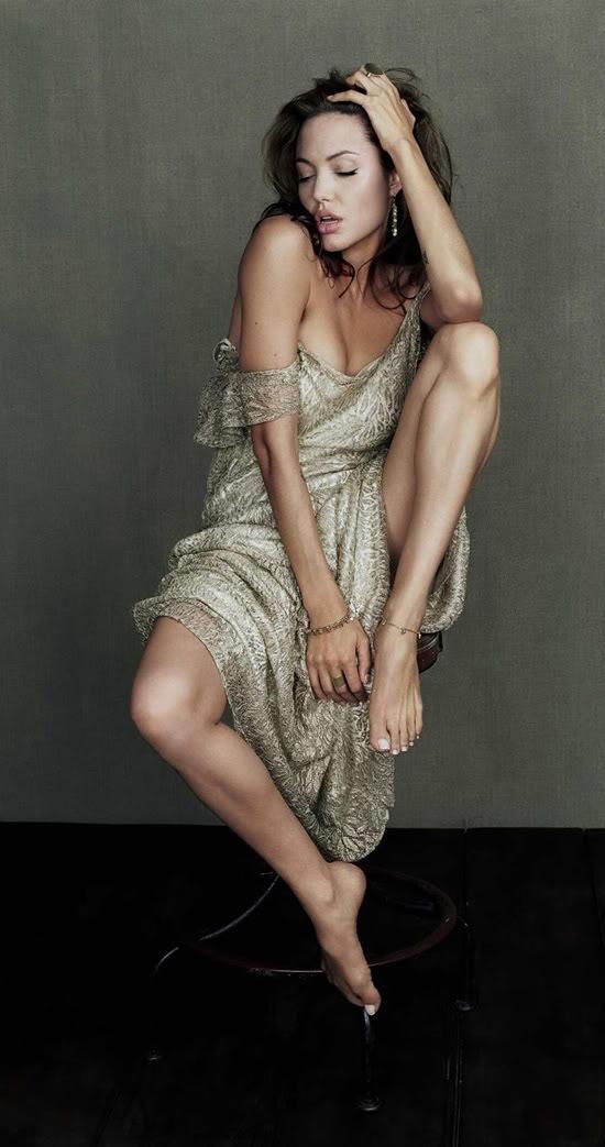 Angelina Jolie Sexy Photoshoot Life Time Photography