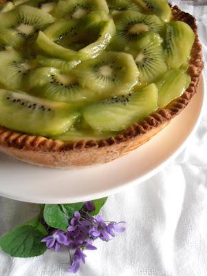Dolci golosità: Crostata alla crema di kiwi