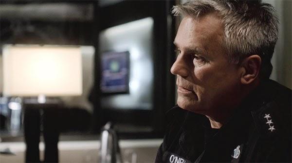 """Richard Dean Anderson as Jack O'Neill in SGU's """"Air""""."""