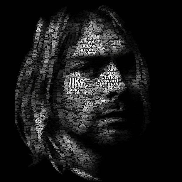 """(Juan Osborne) Portrait """"Kurt Cobain"""""""