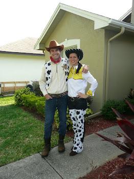 Woody & Jessie celebrate Kaleb's birthday