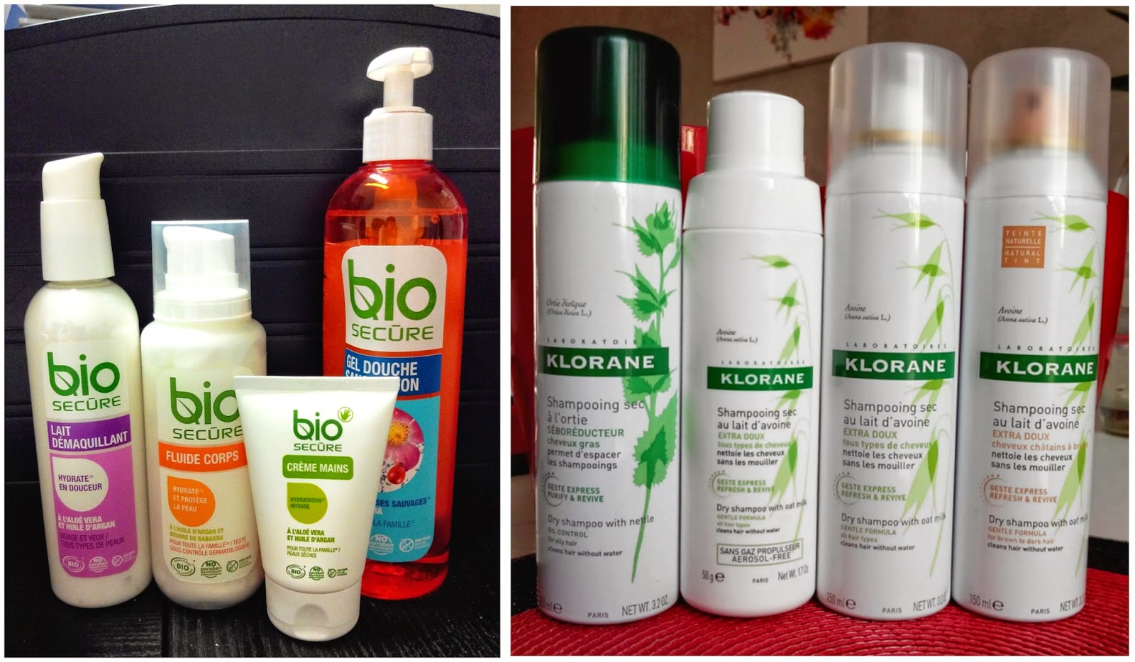 bio secure, klorane, shampooing, beauté, bullelodie
