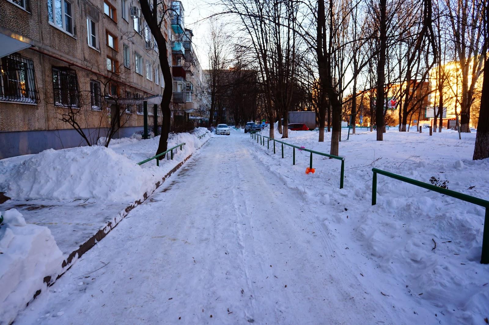 Дороги Ростова Зимой 2014