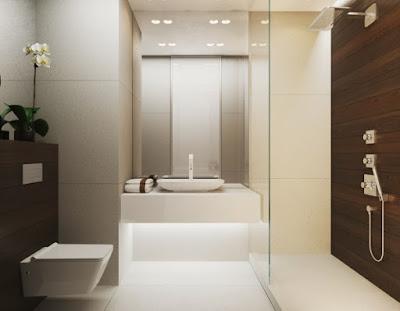 Design Moderno de Interior com cores Quente