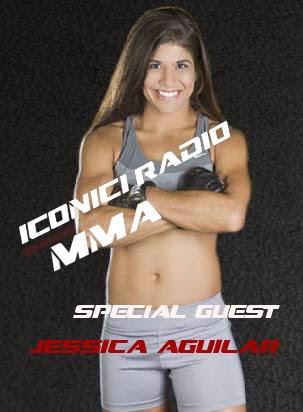 WSOF Strawweight Champ Jessica Aguilar Iconici Radio MMA