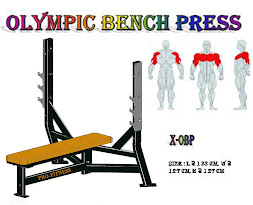 Olympic Bench Press Black