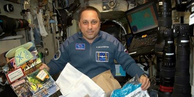 Anton Shkaplerov Kosmonot Rusia