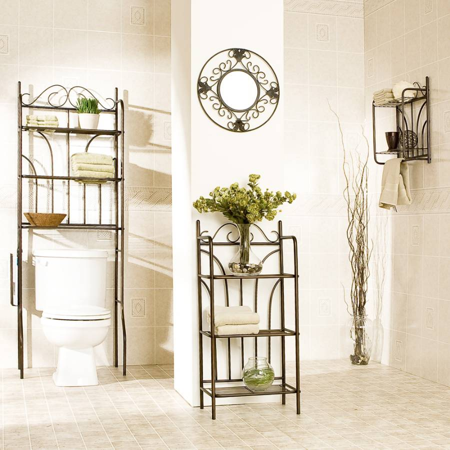 Cheap chic decor easy ways to update your bathroom for Cheap bathroom decor