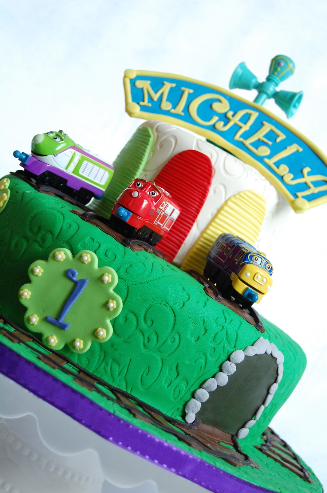 CUSTOMISED CAKES BY JEN Chuggington Cake - Chuggington birthday cake