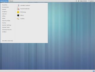 GNOME 3.8 classic mode