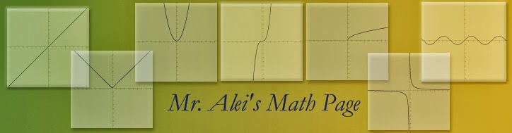 Mr. Alei's Math - Desert 2012-13