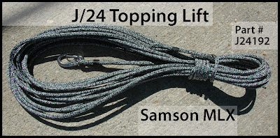 Performance Sailing APS Rigging J24 Topping Lift Samson MLX