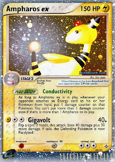Ampharos ex Pokemon Card EX Dragon Set