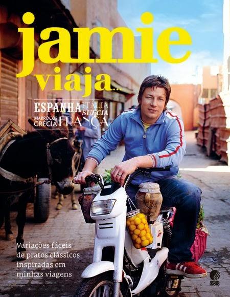 livro jamie oliver viaja espanha italia suécia grécia marrocos