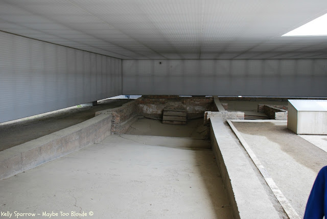 Crematorium at Sachsenhausen Concentration Camp