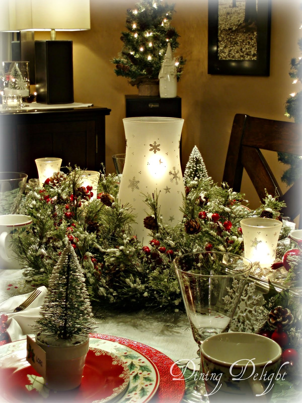 Dining Delight Italian Wine Themed Tablescape