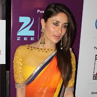 Kareena latest pics in orange saree
