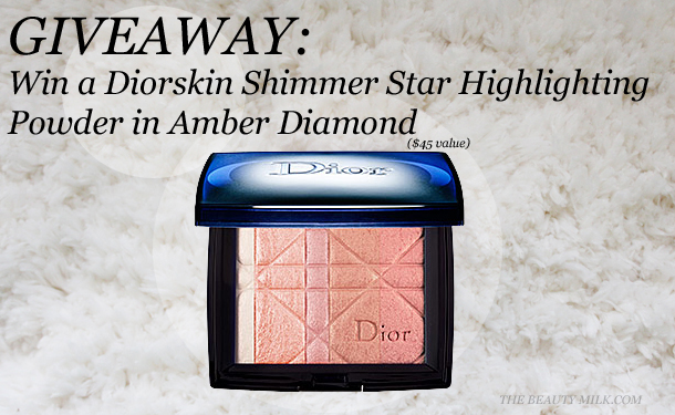 dior amber diamond giveaway