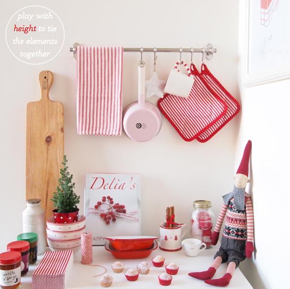 Kitchen Decor Christmas: Bright.Bazaar: Holiday Decorating In Mr. Bazaar's Kitchen