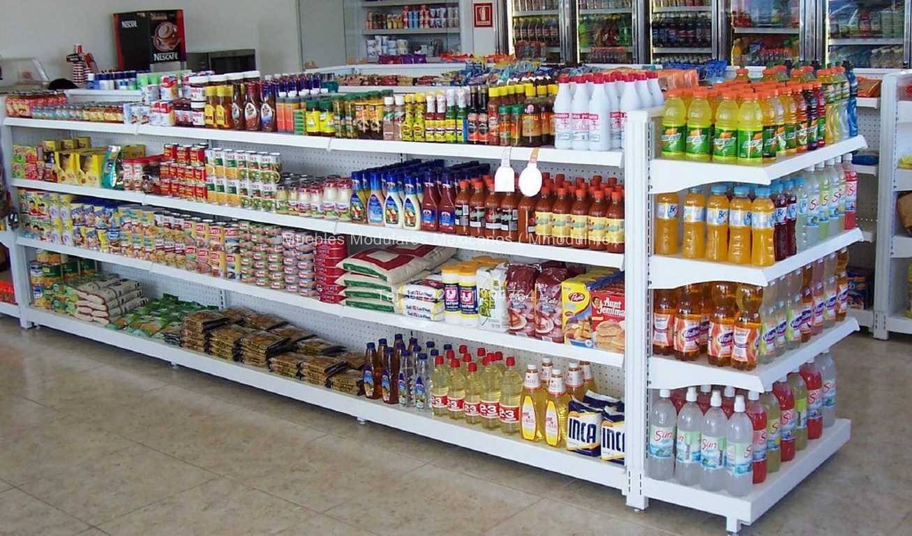 Muebles de tiendas mobiliario de oficina muebles de for Muebles para supermercado