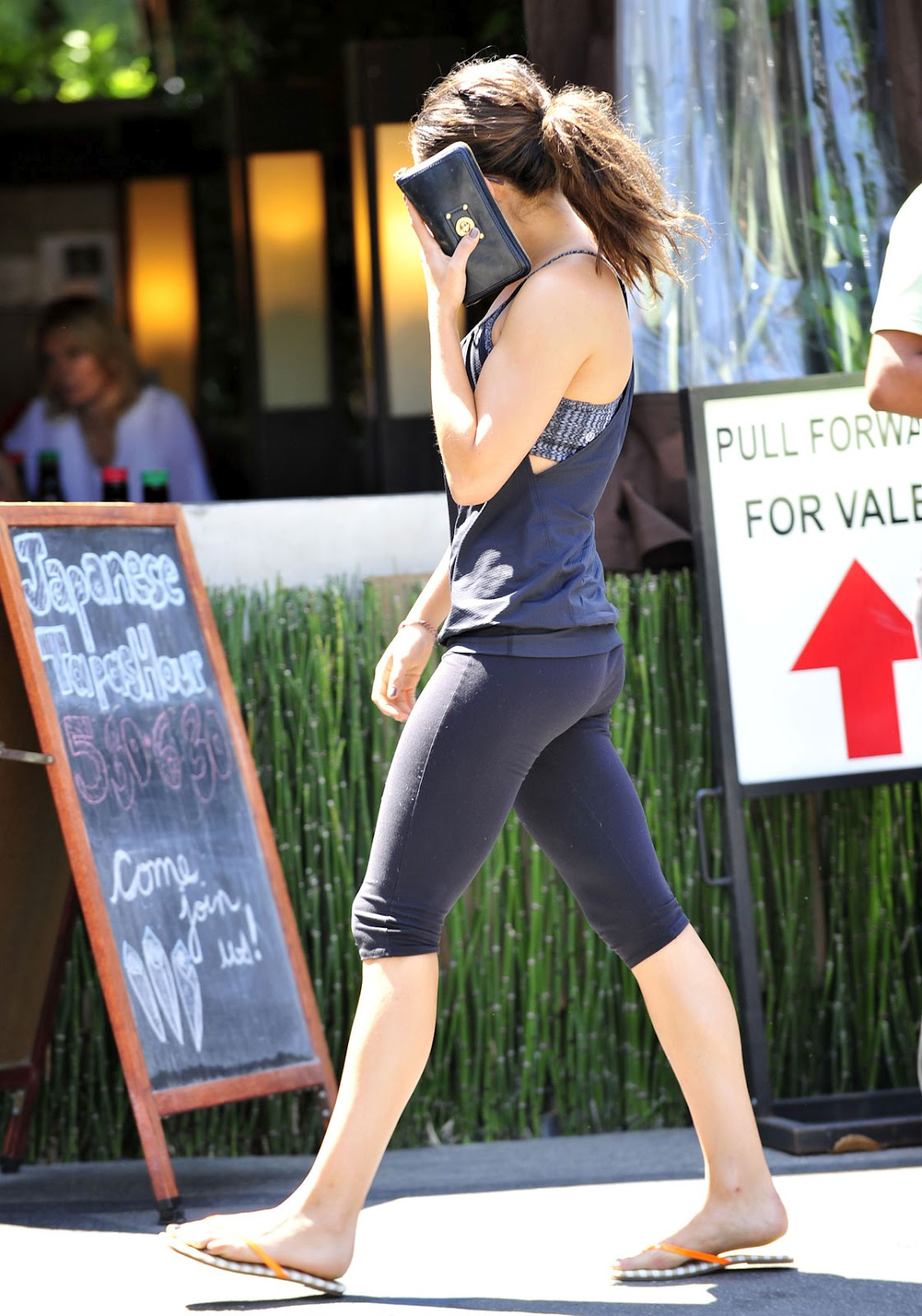 ass pants kunis Mila yoga