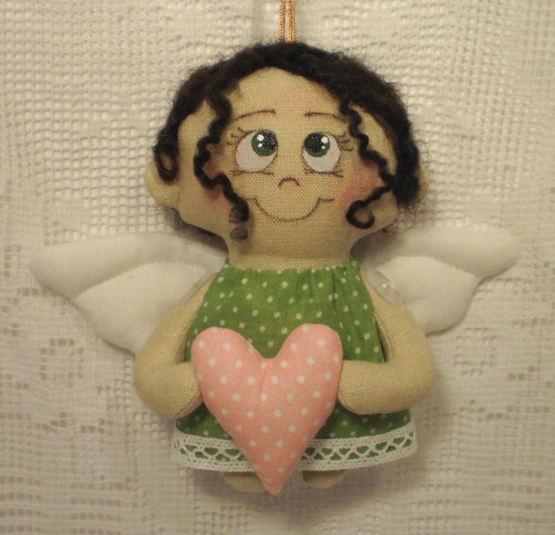 Мягкая игрушка ангел своими руками 47