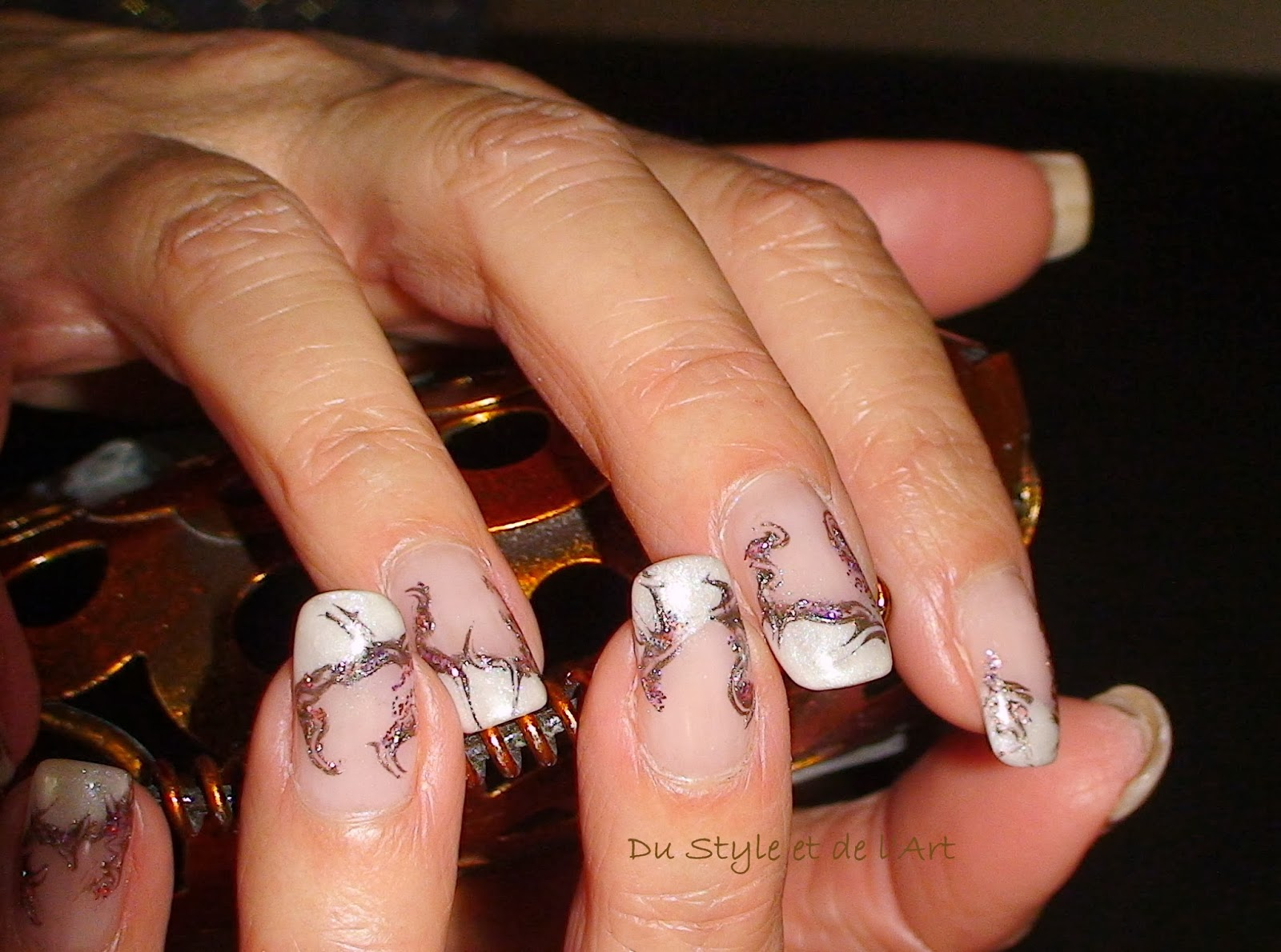 deco ongle sans french