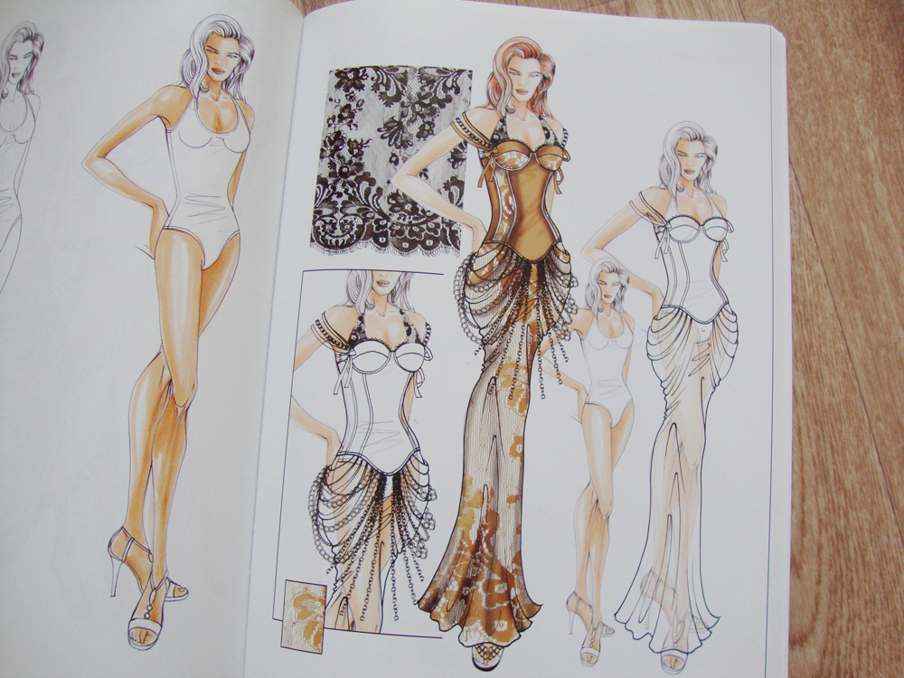Figure Drawing for Fashion Design, Figure Drawing, Drudi, Elisabetta Drudi, Kuky, new edition, Books