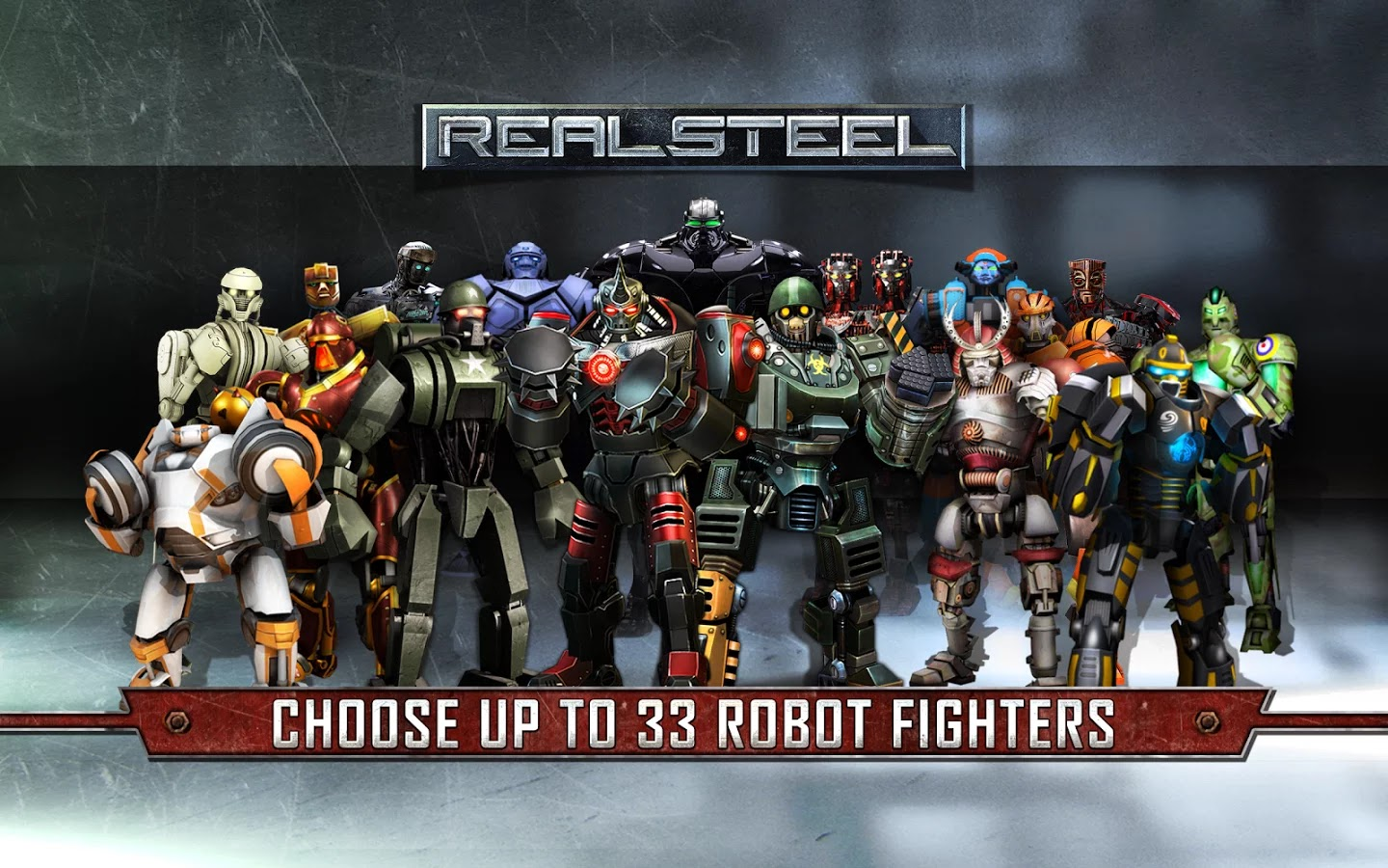 Real Steel HD v1.6.3 Mod [All Unlocked]