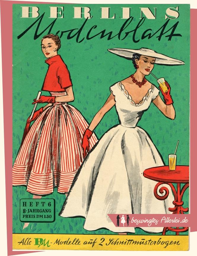 Berlins Modenblatt 06/1952 - Titel