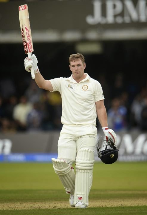 Aaron-Finch-Marylebone-Cricket-Club-vs-Rest-of-the-World-XI-Lords