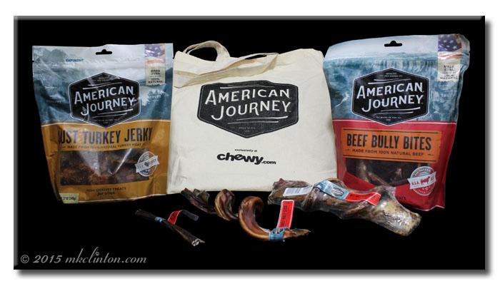 An=merican Journey treats from Chewy.com
