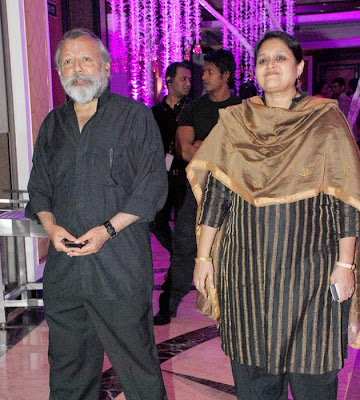 Singer Sunidhi Chauhan Wedding Reception